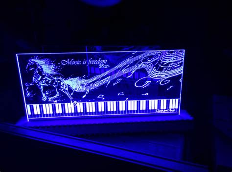 led acrylic edge lighting edge lit acrylic sign