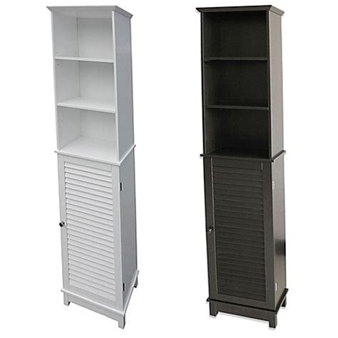 bed bath beyond bathroom cabinet summit tall cabinet tower bed bath beyond