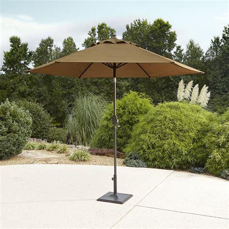 Patio Umbrella Sears Garden Oasis Emery 9 Patio Umbrella Golden Brown