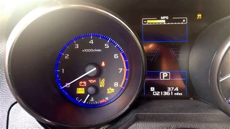 Subaru Check Engine Light Cruise by Subaru Check Engine Light Blinking And Fans Cycle On An