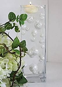 34 white pearl unique vase filler with