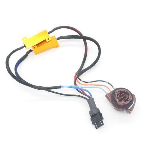 3157 load resistor harness car led t25 3157 3157 brake lights singal load resistor led ᗕ bulb bulb fast hyper flash turn