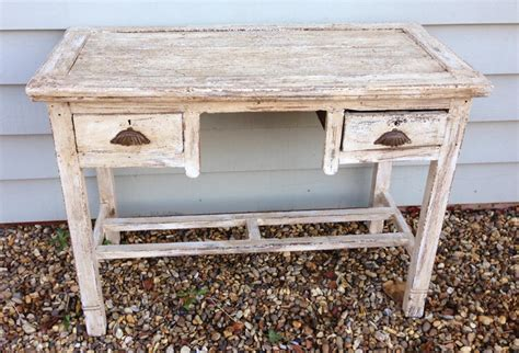 shabby chic desk with drawers in furniture boxes