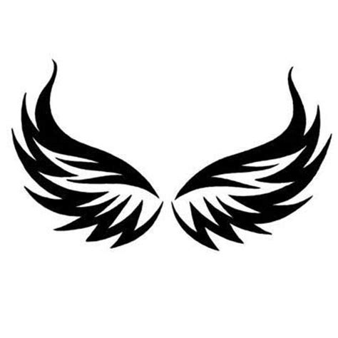 eagle wing tattoo designs tribal eagle wings design tattoowoo