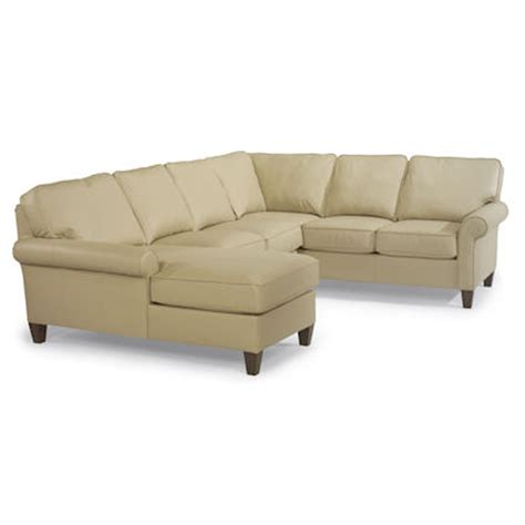 flexsteel sectional sofa flexsteel 3979 sect westside sectional sofa discount
