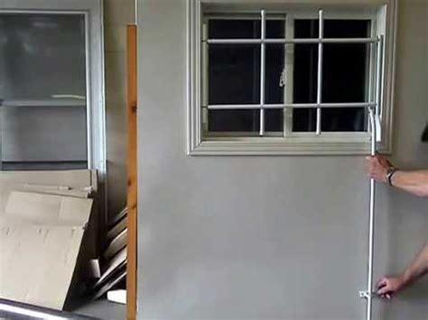 interior window bars release release window security bars