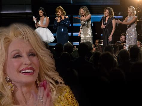 Flubs Dolly Parton Tribute by Reba Carrie Martina And Jnett Pay Tribute