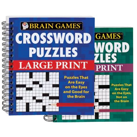 large print easy crossword puzzle books large print crossword puzzle books crossword book