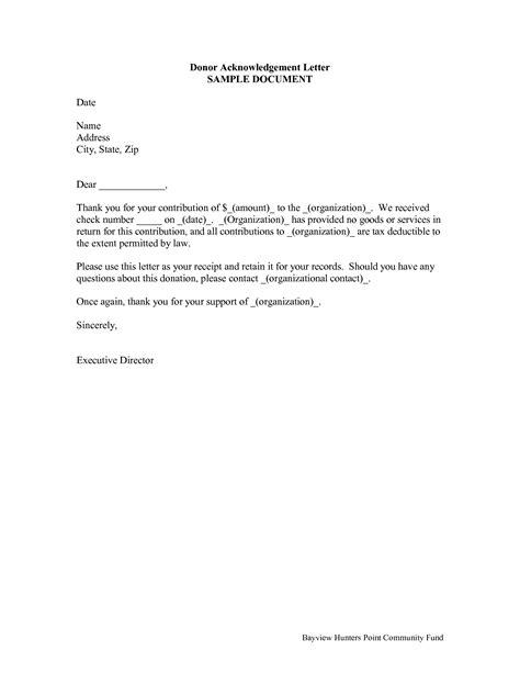 donation receipt letter calendar template site