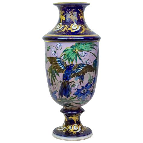 Large Porcelain Vase by Large Aesthetic Porcelain Vase With Floral And Bird