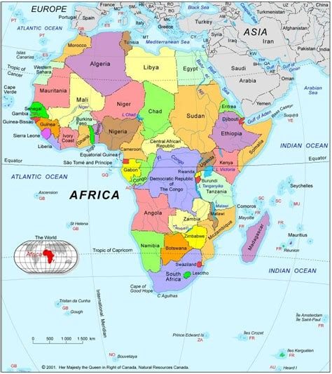 map of the day africa various maps of africa use with my s world