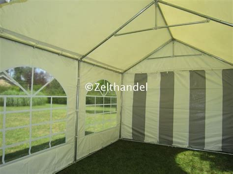 faltpavillon 3x4m wasserdicht partyzelt gartenzelt pavillon zelt 3x4m grau wei 223 pvc