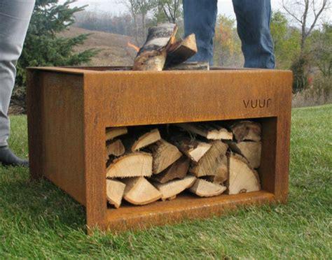 portable wood burning pit metal pit pit design ideas