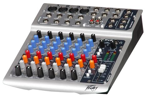 Mixing Console Mixer Peavey Pv8 8channel Limited peavey pv8 mixer