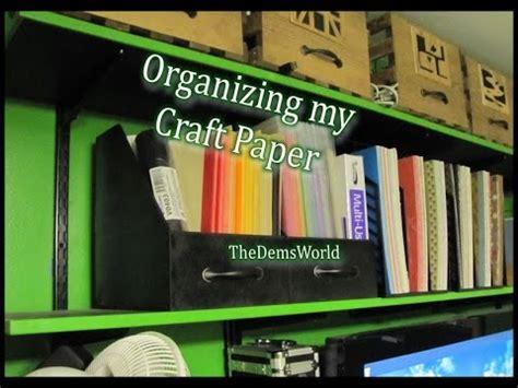 Craft Paper Storage Solutions - 12 x 12 dyi scrapbook paper storage solution doovi
