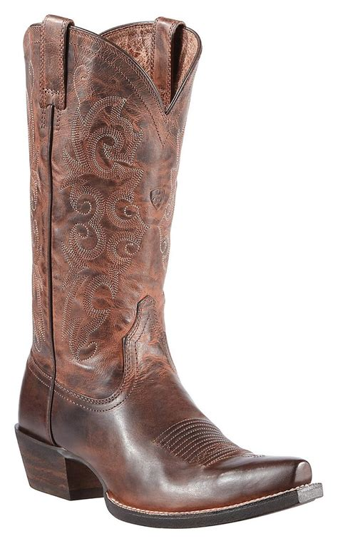 ariat womens cowboy boots ariat alabama s sassy brown snip toe western boots