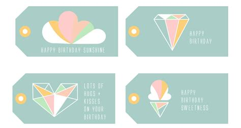 Printable Birthday Gift Tags Cards - search results for free printable christmas present tags calendar 2015