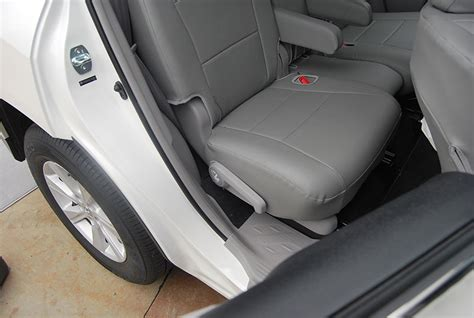 Toyota Highlander 2013 Seat Covers Toyota Highlander 2011 2013 Iggee S Leather Custom Seat
