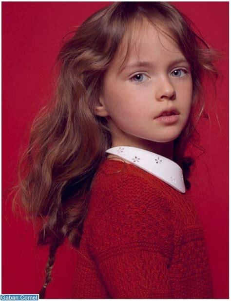 kristina pimenova model kanak kanak  cantik