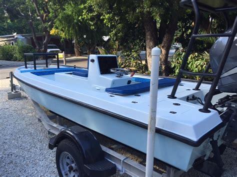18 flats boat very custom 18 action craft flats boat built by randy