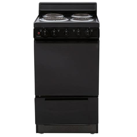 premier 20 in 2 42 cu ft electric range in black