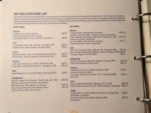 room service menu page 6 picture of secrets maroma