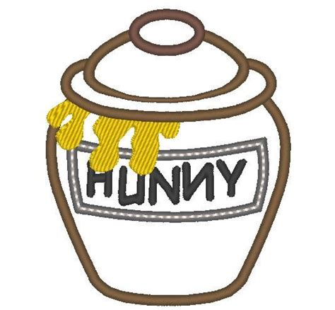 honey pot tattoo designs honey pot winnie the pooh machine embroidery applique