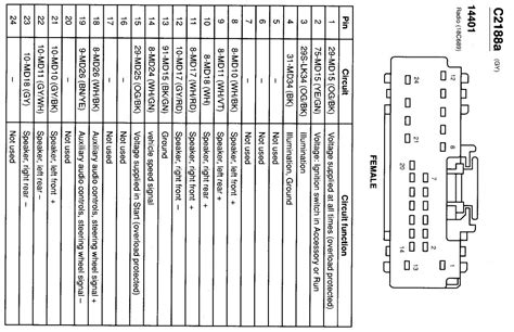 2007 ford f150 radio wiring diagram wiring diagram and