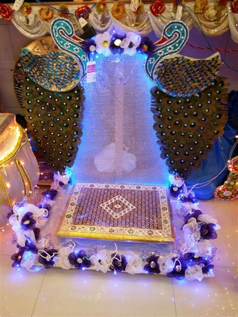 mahalaxmi decoration janmashtami decoration goddess