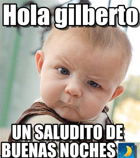 Hola Meme - hola gilberto sceptical baby meme on memegen