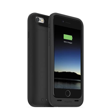 mophie juice pack plus for iphone 6 6s black 3071 b h photo