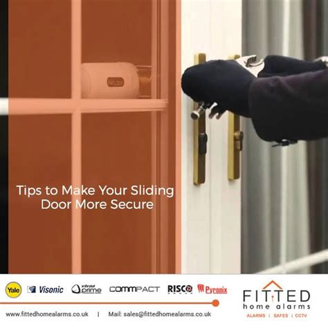 tips to make your sliding door more secure fitted