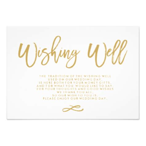 wedding wishes wording wishing well invitations announcements zazzle au
