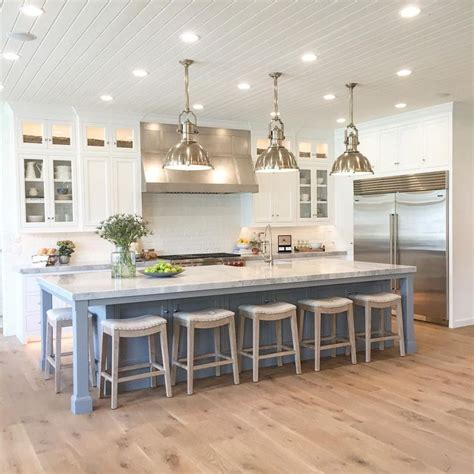Light Pendants Over Kitchen Islands best 25 large kitchen island ideas on pinterest large