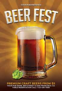 beer fest flyer template for photoshop awesomeflyer com
