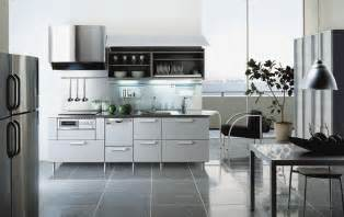 Best Designed Kitchens Steel Colored Kitchen Design By Tayokitchen Digsdigs