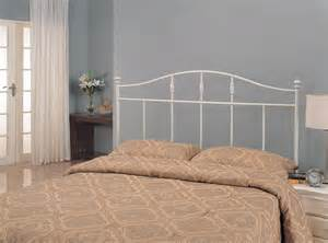 white metal headboard 300183t coaster furniture