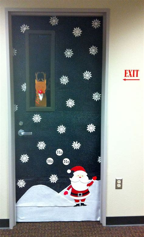 Christmas office door decoration christmas inspiration pinterest