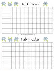 habit tracker free printable for your planner arts and