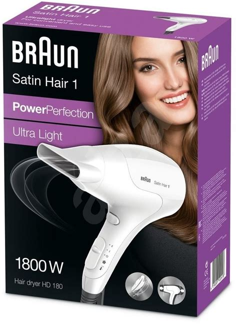 braun satin hair braun satin hair 1 hair dryer hd180 hair dryer