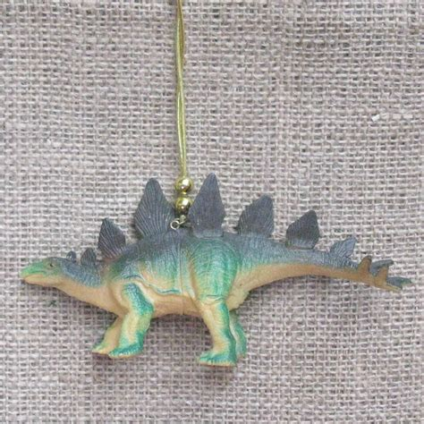 kitsch dinosaur christmas ornament green dinosaur kids room