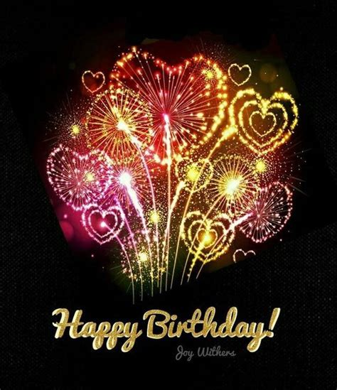 heart firework happy birthday quote pictures   images  facebook tumblr pinterest