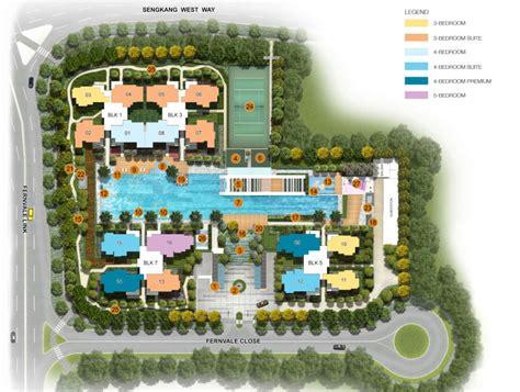 site planner lush acres ec sengkang executive condos singapore