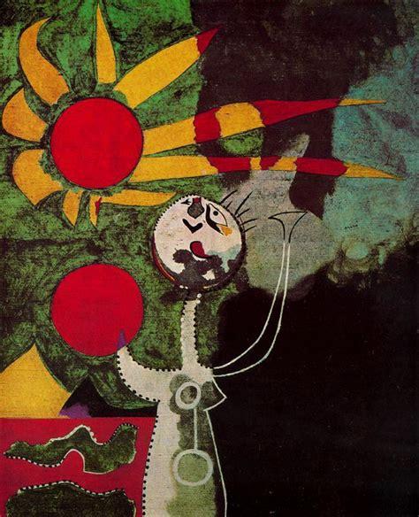 artes visuales imagenes realistas y no realistas wikipedia joan mir 243 mujer delante del sol woman in front of the