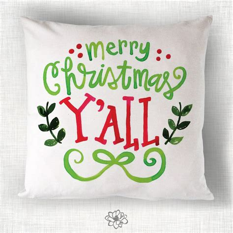 merry christmas y all images merry christmas y all pillow magnolia creative co