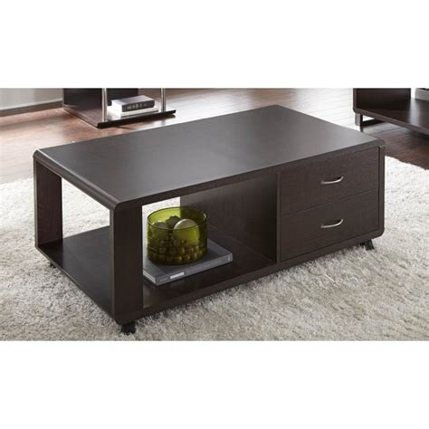coffee table with drawers and wheels steve silver ella coffee table with drawers and wheels in