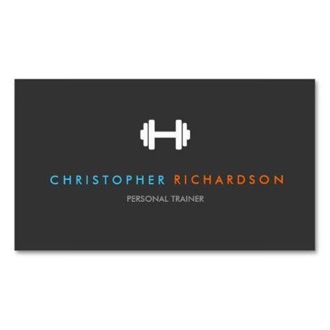trainer business card templates 25 best ideas about personal trainer business cards on