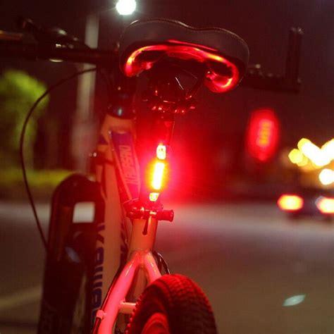 membuat lu led sepeda lu led belakang sepeda dilengkapi dengan berbagai