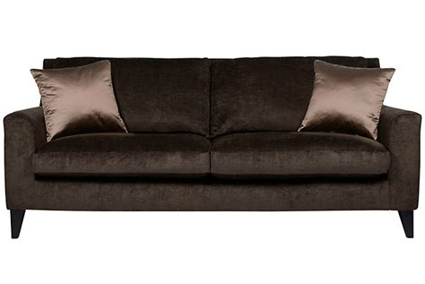 brown velvet sofa chocolate brown velvet sofa dens libraries offices brown