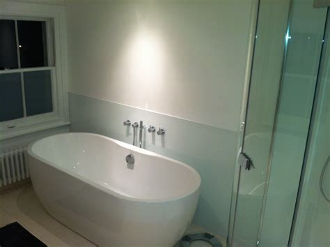 Bathroom Glass Splashbacks Uk Glass Bathroom Splashbacks Photocom